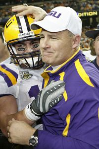 Les Miles and Jacob Hester