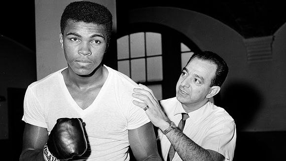 Cassius Clay, Angelo Dundee