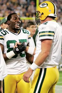 Brett Favre and Greg Jennings