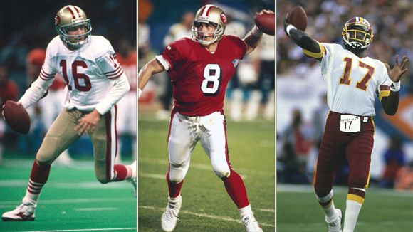 Joe Montana, Steve Young, and Doug Williams