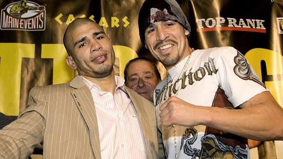 Miguel Cotto and Antonio Margarito