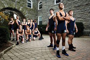 blair wrestlers