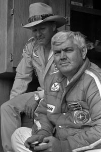 Cale Yarborough & Junior Johnson