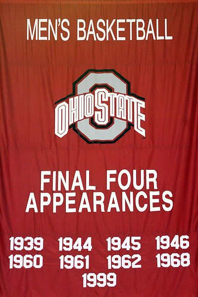 Ohio state final four banner