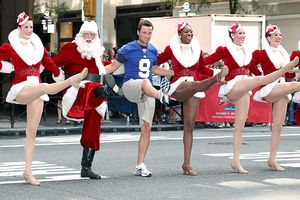 Lawrence Tynes & The Rockettes