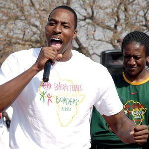 Dwight Howard Basketball without borders