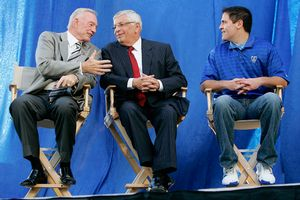 Jerry Jones, David Stern, Mark Cuban