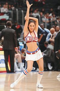 Clippers cheerleader