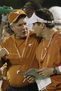 Mack Brown and Will Muschamp