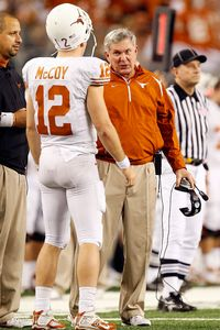Colt McCoy, Mack Brown