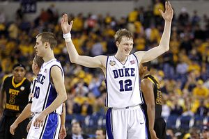 Kyle Singler and Jon Scheyer