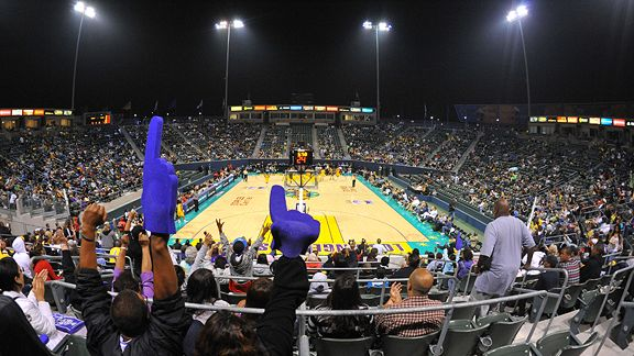 Seattle Storm and the Los Angeles Sparks