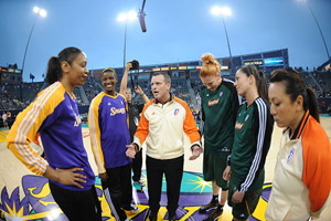 Los Angeles Sparks and Seattle Storm