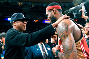 Lebron James and Jay-Z