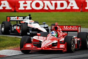 Dario Franchitti and Will Power