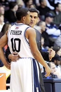 Jay Wright and Corey Fisher