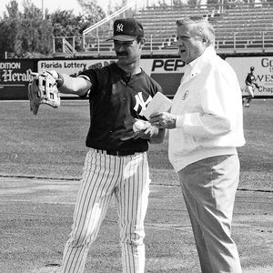 George Steinbrenner and Don Mattingly
