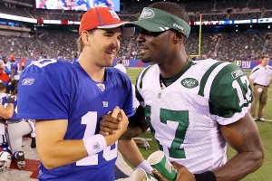 Eli Manning and Plaxico Burress