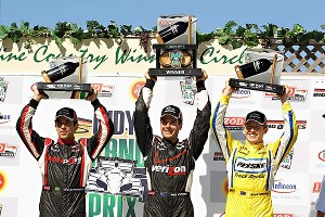 Castroneves/Briscoe/Power