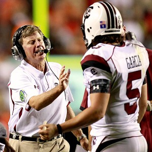 Steve Spurrier & Stephen Garcia
