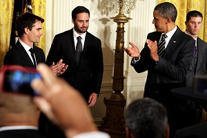 President Obama & Jimmie Johnson