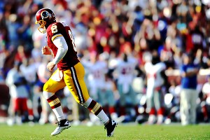 James Lang/US Presswire Rex Grossman took advantage of a thinned-out