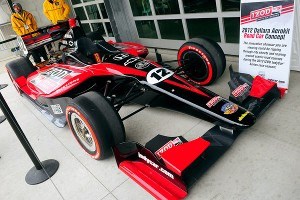 New Dallara Car