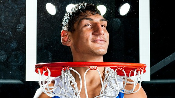 Satnam Singh, who trains at the IMG Academy basketball program, is featured in the NEXT issue of ESPN The Magazine