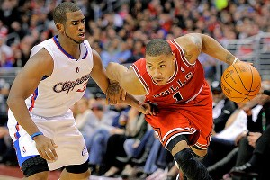 Derrick Rose and Chris Paul
