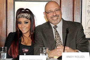 Nicole 'Snooki' Polizzi and her father Andy Polizzi