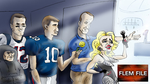 Super Bowl cartoon