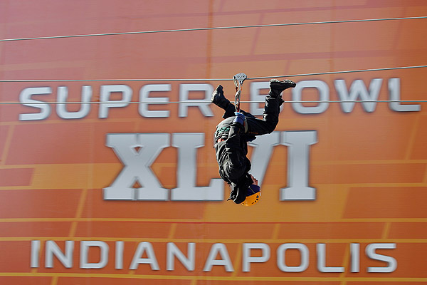 AP Photo/Eric Gay Indianapolis drew rave reviews as a host for Super Bowl ...