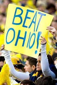 Beat Ohio sign