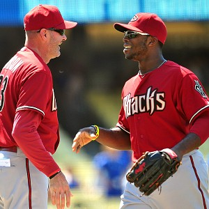 Kirk Gibson and Justin Upton