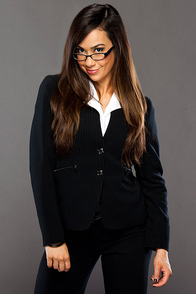 Wwe Aj Lee Sexiest Moments Vickie guerrero re-hired aj