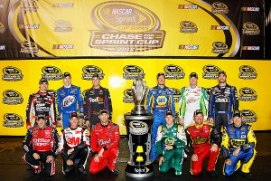Sprint Cup Chase drivers