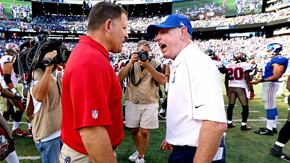 Greg Schiano and Tom Coughlin