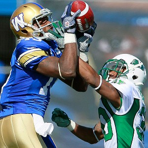 Winnipeg Blue Bombers and Saskatchewan Roughriders
