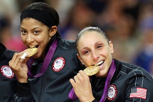 Candace Parker and Diana Taurasi