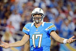 Philip Rivers complains to referee