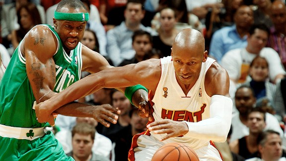 Ray Allen and Jason Terry