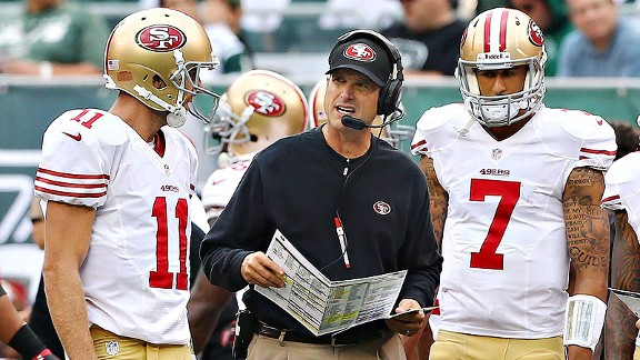 Smith & Harbaugh & Kaepernick