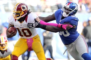 Robert Griffin III and Jason Pierre-Paul