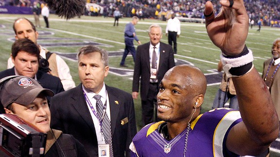 We Went There: Adrian Peterson's Near Record