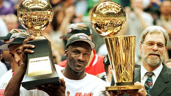 Michael Jordan returned to the NBA with renewed enthusiasm -- and won three more titles with the Bulls.