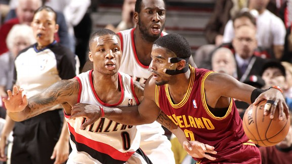 Kyrie Irving and Damian Lillard