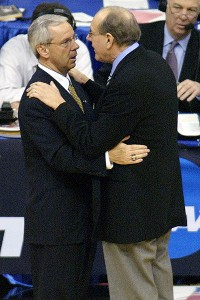 Jim Boeheim and Roy Williams
