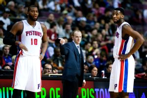 Greg Monroe, Lawrence Frank, Andre Drummond