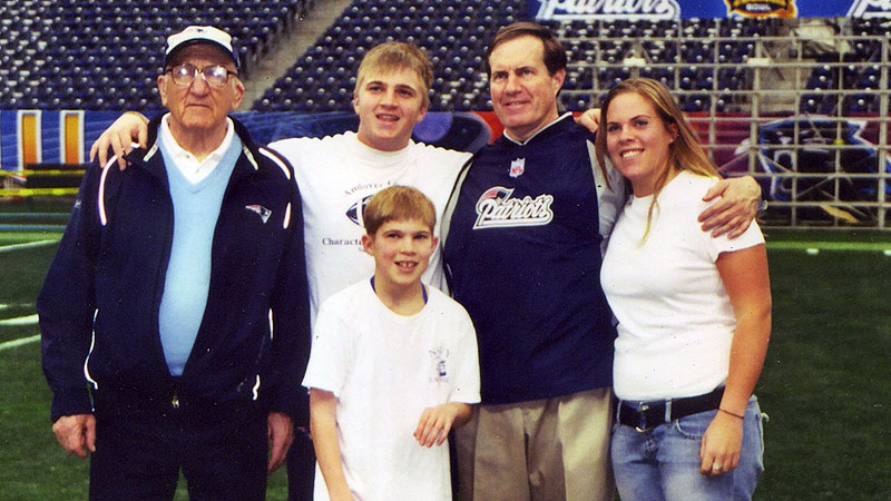 Photo of Bill Belichick & his  Son  Brian Belichick