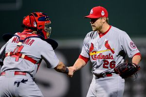 Trevor Rosenthal and Yadier Molina